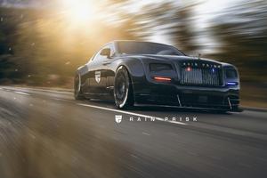 Rolls Royce Police 4k Wallpaper