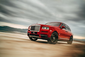 Rolls Royce SUV Wallpaper
