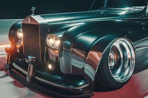 Rolls Royce Vintage M25 4k