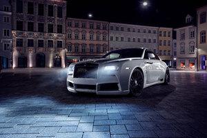 Rolls Royce Wraith 2017 4k