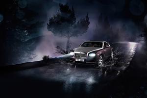 Rolls Royce Wraith 2021 Wallpaper