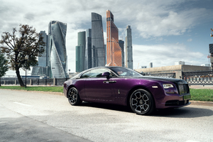 Rolls Royce Wraith Black And Bright 2019