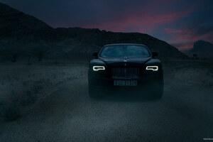 Rolls Royce Wraith Black Badge Wallpaper