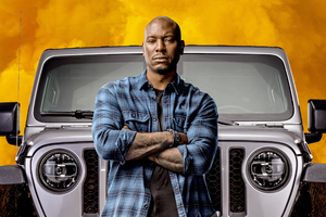 Roman Pearce In Fast And Furious 9 2020 Movie Wallpaper