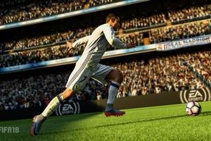 Ronaldo Fifa 18 5k Wallpaper