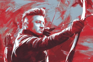 Ronin Hawkeye Avengers EndGame 2019 Wallpaper