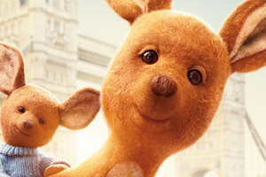 Roo And Kanga In Christopher Robin Movie 4k