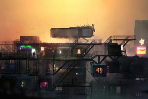Rooftop Stories 4k