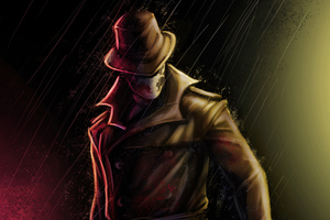 Rorschach Watchman Artwork 4k Wallpaper