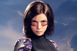 Rosa Salazar As Alita In Alita Battle Angel