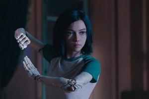 Rosa Salazar In Alita Battle Angel