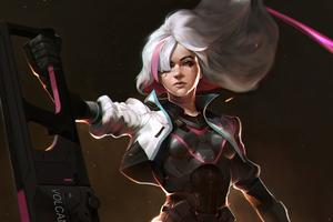 Rose Overwatch Concept Art Wallpaper