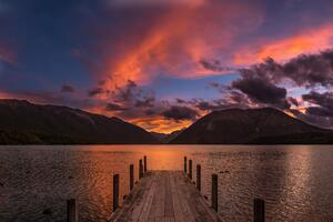 Rotoiti Lake New Zealand