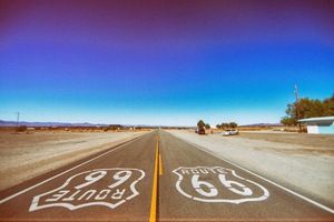 Route 66 Road 5k Wallpaper