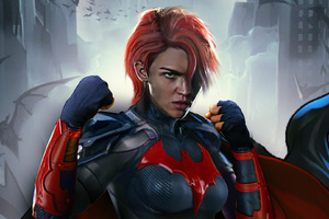 Ruby Rose As Batwoman Art