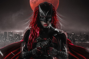 Ruby Rose As Batwoman Artwork