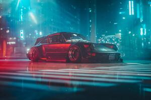 RWB 964 Wagon Wallpaper