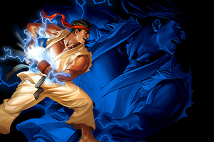 Ryu Hadouken Street Fighter 2