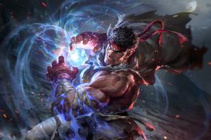 Ryu Street Fighter V 2020 4k Wallpaper