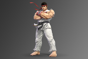 Ryu Super Smash Bros Ultimate 5k