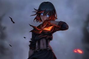 Ryuko Warrior Girl 4k Wallpaper