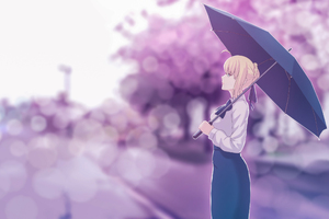 Saber Fate Stay Night Artwork