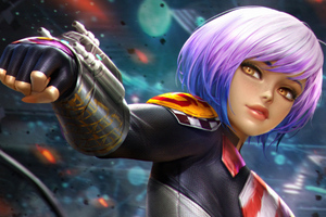 Sabine Wren From Star Wars Rebels Wallpaper