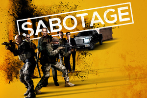 Sabotage Movie Wallpaper