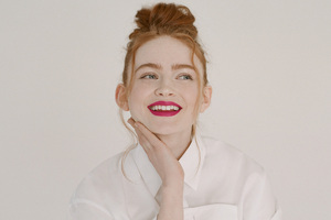 Sadie Sink Givenchy Beauty Campaign 2021 Wallpaper