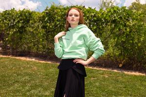 Sadie Sink Scrill Davis For Flaunt Magazine 4k Wallpaper