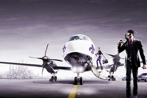 Saints Row The Third Game Private Jet