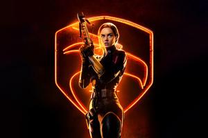 Samara Weaving As Scarlett In Snake Eyes 8k Wallpaper