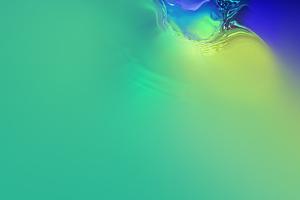 Samsung Galaxy S10 Green Wallpaper