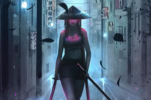Samurai Girl 4k