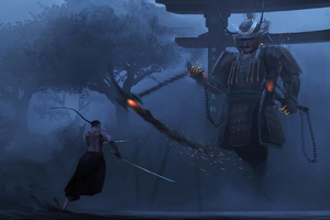 Samurai Last Lesson 4k