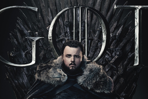 Samwell Tarly Game Of Thrones Season 8 Poster