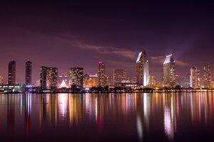 San Diego Skyline Wallpaper