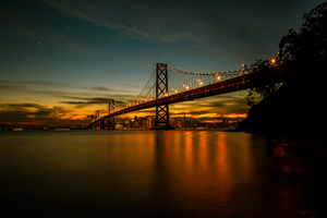 San Francisco Bay Bridge 5k Wallpaper