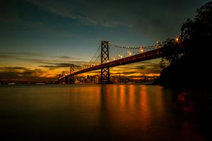 San Francisco Bay Bridge 5k Wallpaper