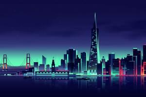San Francisco Minimalist City
