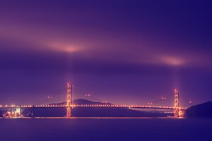San Franciso Golden Gate Bridge HD Wallpaper