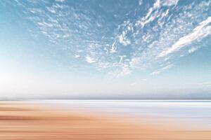 Sand Coastline 4k