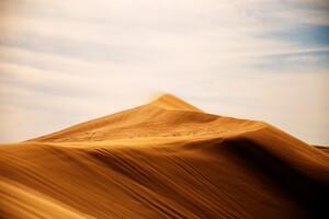 Sand Dunes Landscape 4k