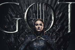 Sansa Stark Game Of Thrones Season 8 Poster
