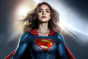 Sasha Calle Supergirl Fan Art 4k Wallpaper