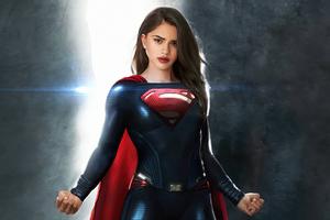 Sashacalle As Supergirl 4k Wallpaper