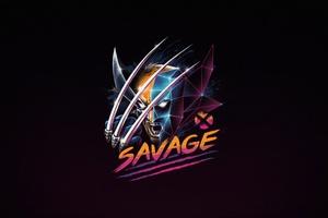 Savage Wolverine 4k Wallpaper