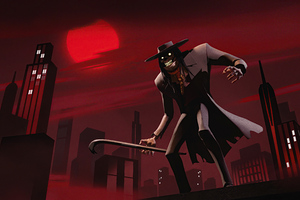 Scarecrow From Batman The Animated Series 4k Wallpaper