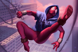 Scarlet Spider Art
