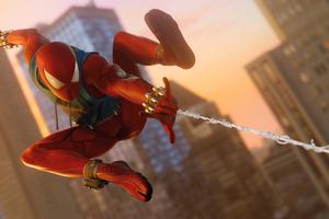 Scarlet Spider In Ps4 Game 4k